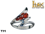 Jewellery SILVER sterling ring.  Stone: amber. TAG: ; name: R-A59; weight: 3.2g.